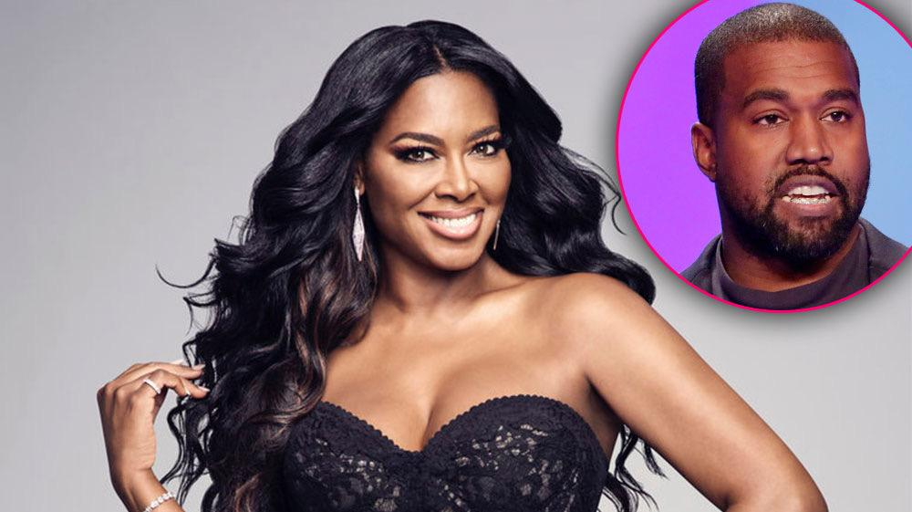 'RHOA' Star Kenya Moore Recalls 'Disaster' Date With Kanye West