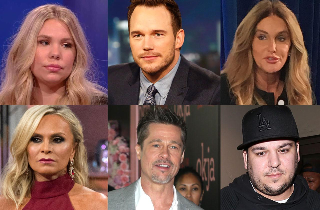 //celebrities alone holidays divorce custody fight