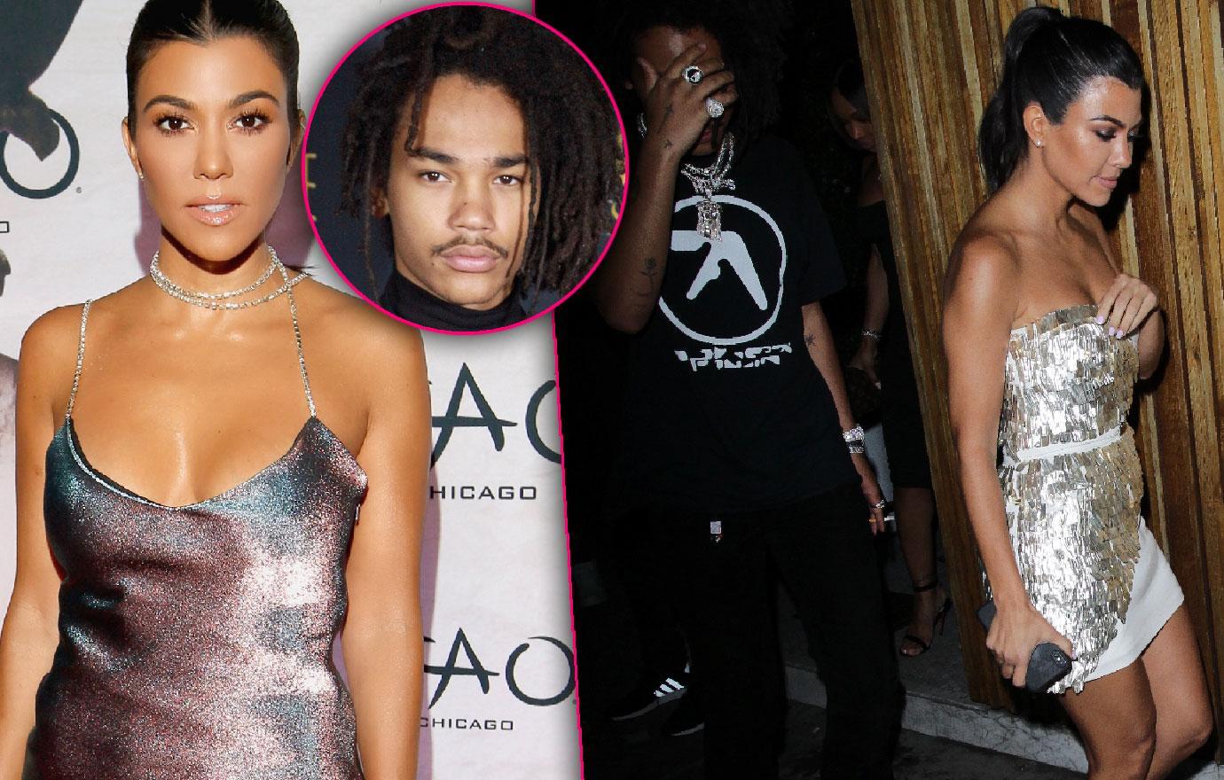Kourtney Kardashian Steps Out With Boytoy Lukka Sabbat