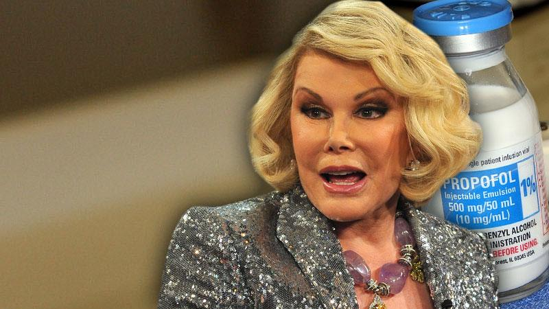 //joan rivers propofol