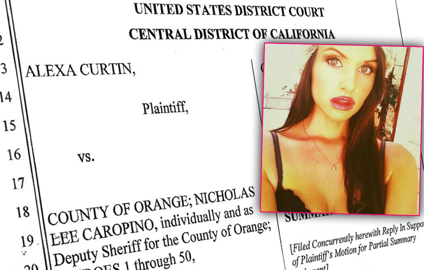 alexa curtin rape police lawsuit dash cam video rhoc