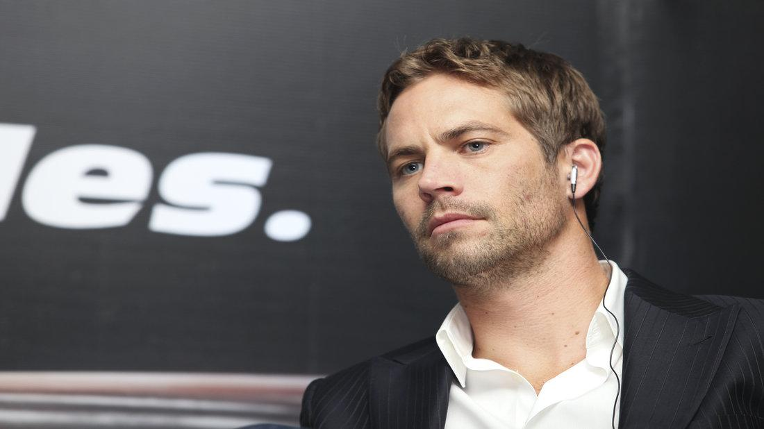 Paul Walker in black suit