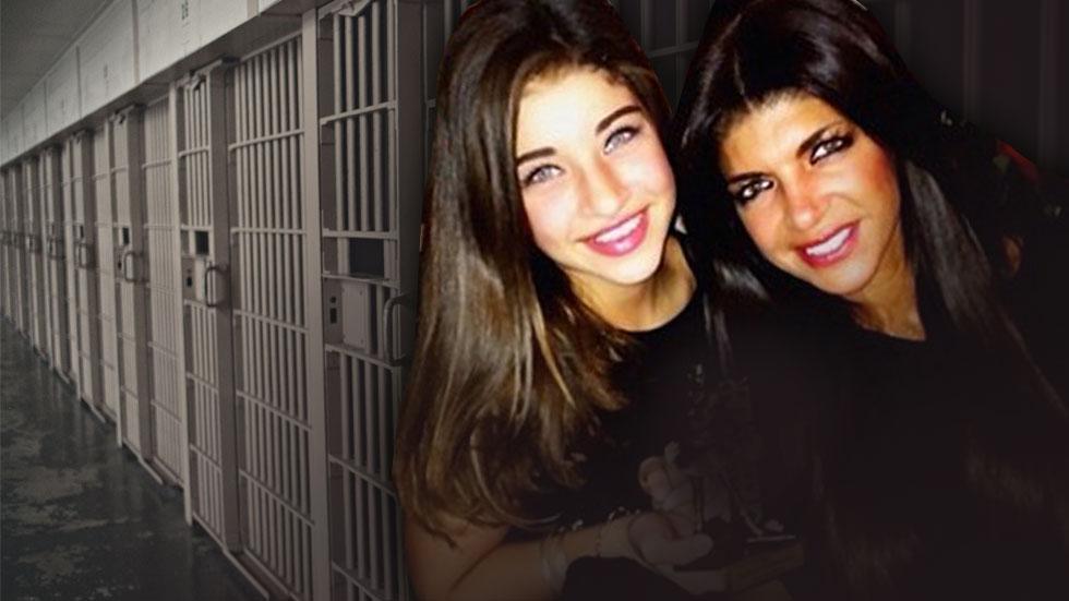 Gia Giudice Visits Teresa In Prison