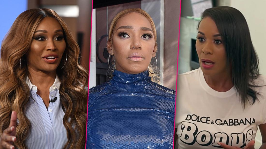 RHOA Recording Taping Cynthia Bailey Trash Talking NeNe Leakes