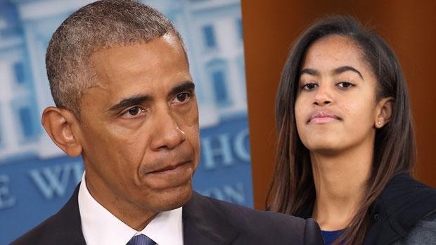 malia obama parties amsterdam club barack obama daughter birthday drinking video