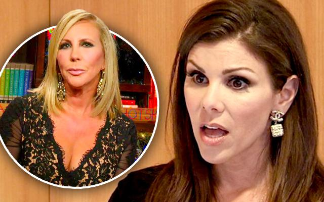 Heather Dubrow Slams Vicki Gunvalson Lies