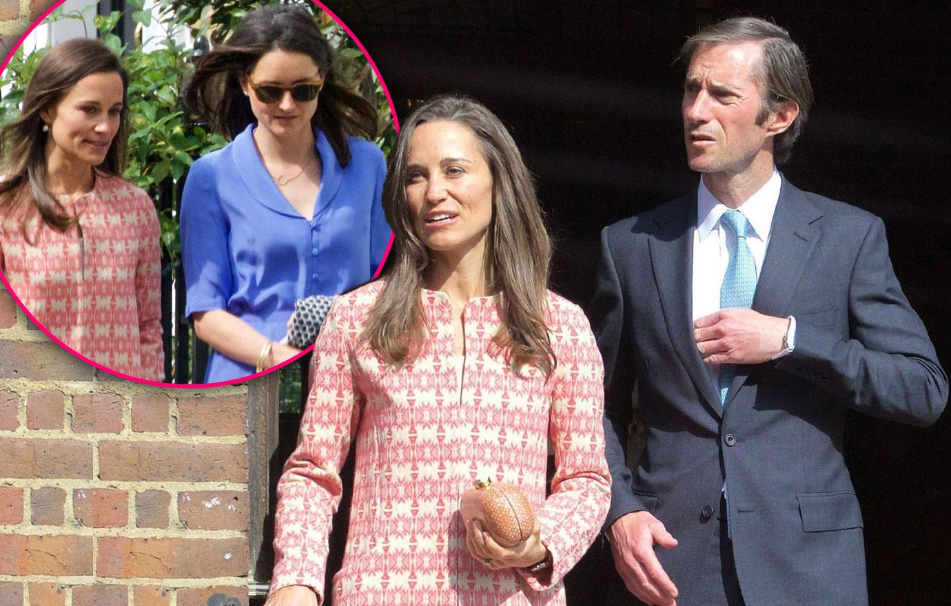 Pippa Middleton James Matthews Wedding Prep PDA