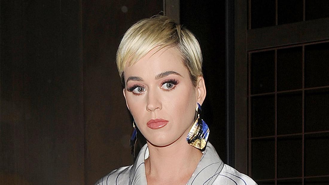 Katy Perry Closeup Looking Serious