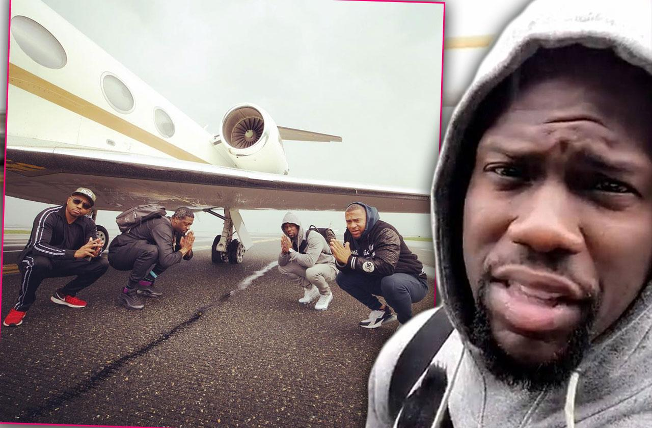 Kevin Hart Survives Airplane Scare