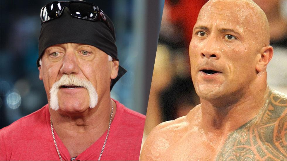 Hulk Hogan Dwayne Johnson