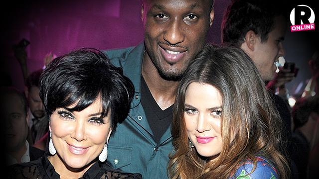 Khloe Kardashian Kris Jenner Talking To Lamar Odom