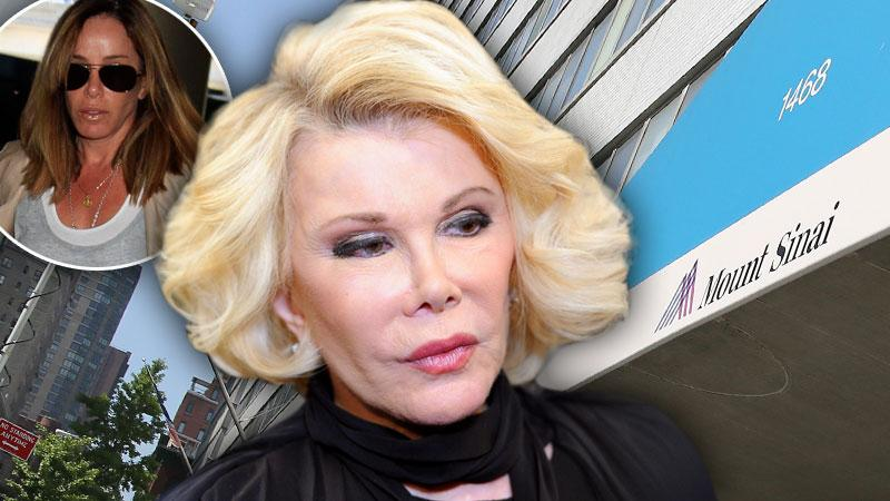 //joan rivers melissa rivers mt sinai __