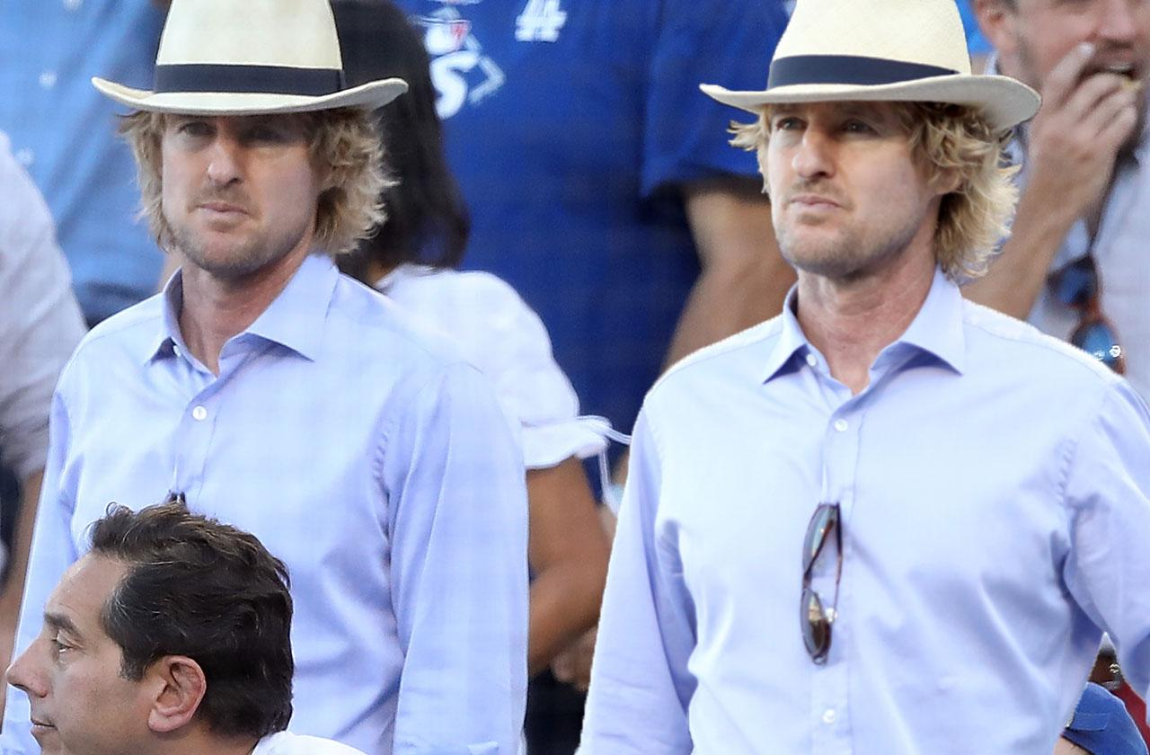 owen wilson baseball game days birth daughter