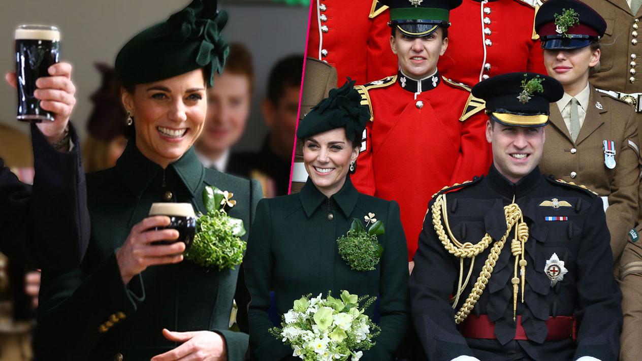 Kate Middleton Prince William Drink Beer St Patricks Day