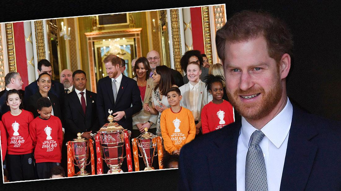 Rugby League World Cup 2021 draws, Prince Harry Is All Smiles At First Royal Appearance Since Leaving Family
