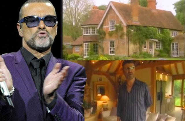 //george michael dead room deathbed photos pp