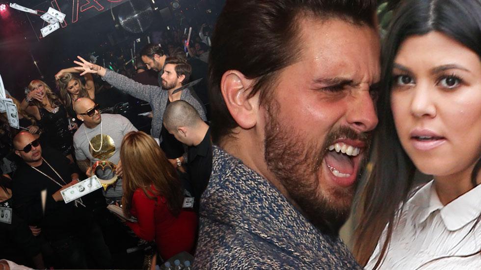 //scott disick kourtney kardashian restaurant bar oak nightclub mirage las vegas