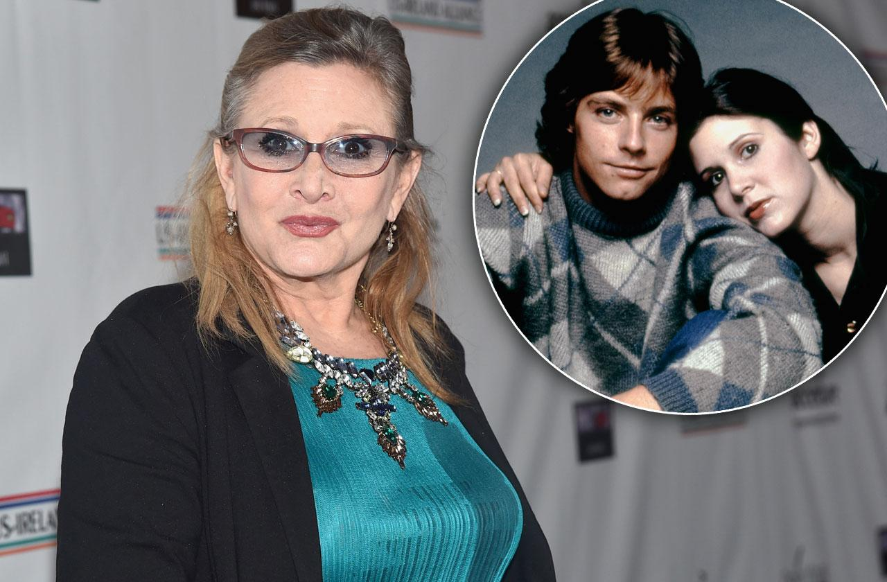 Carrie Fisher Death Anniversary Celebrity Posts