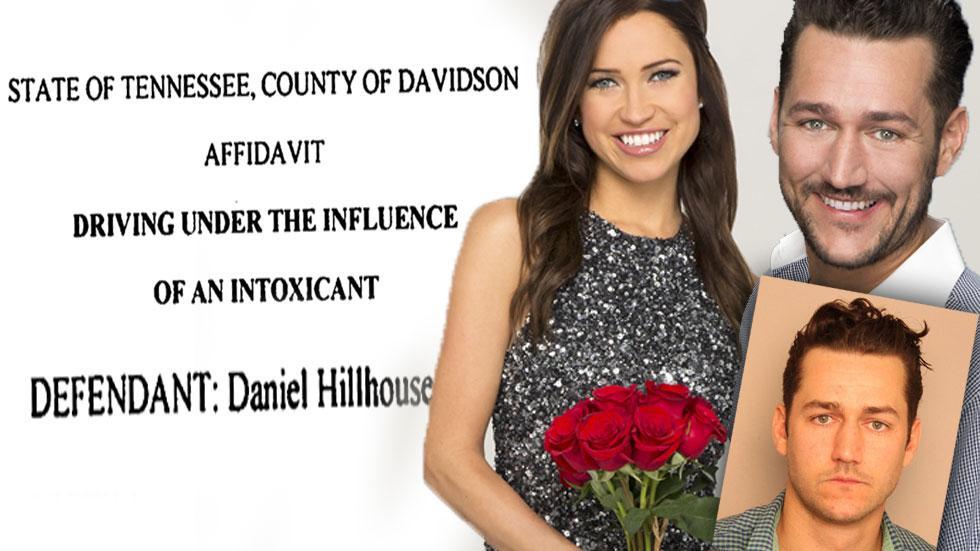 //bachelorette contestant daniel finney arrest mugshot pp