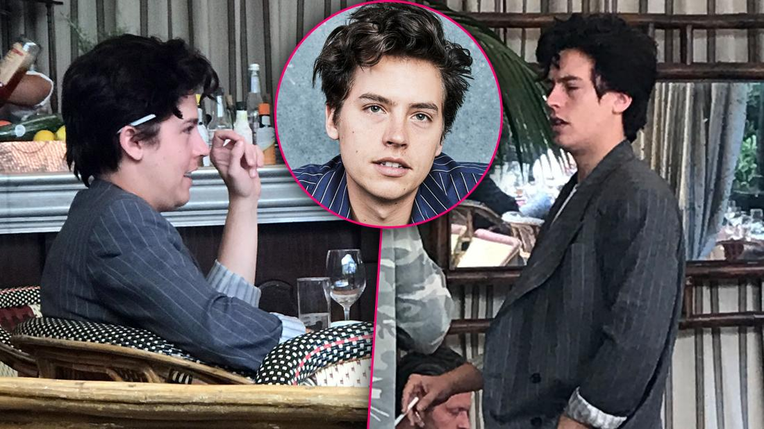 Disheveled 'Riverdale' Star Cole Sprouse's Daytime Partying Caught On Camera