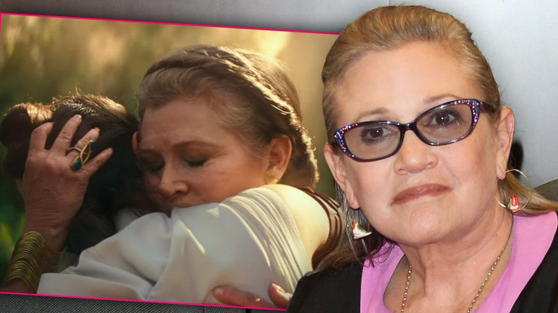 Carrie Fisher Appears In 'Star Wars: The Rise of Skywalker' Trailer After Death