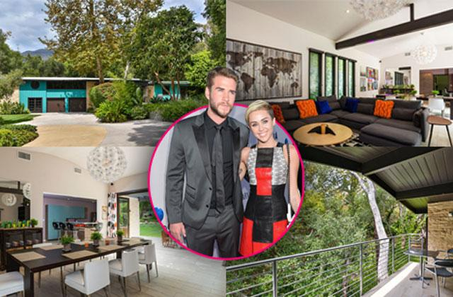//Miley Cyrus Buys Mansion Liam Hemsworth pp
