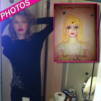 //courtney love twitter photos drawing