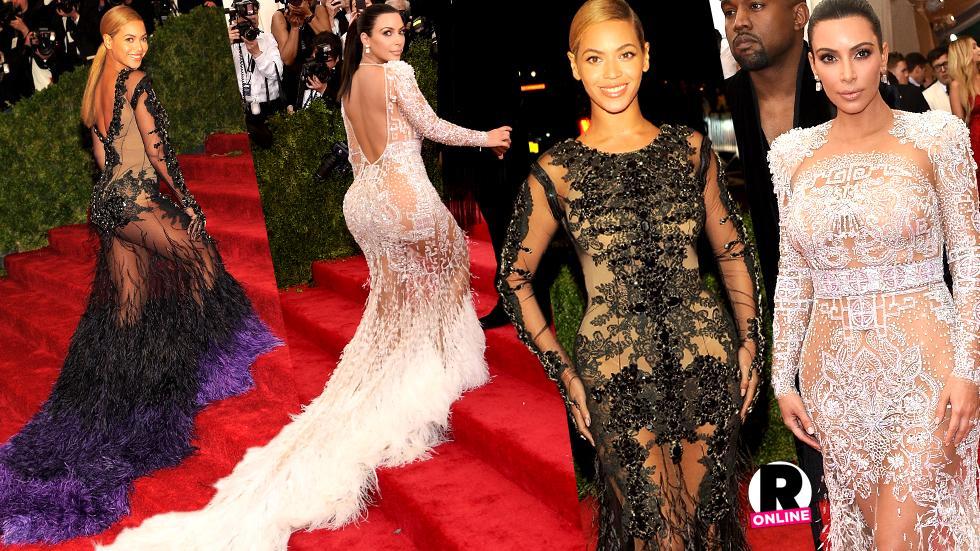 Kim Kardashian Met Gala Beyonce