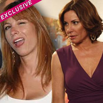 //jill zarin crash countess luann party