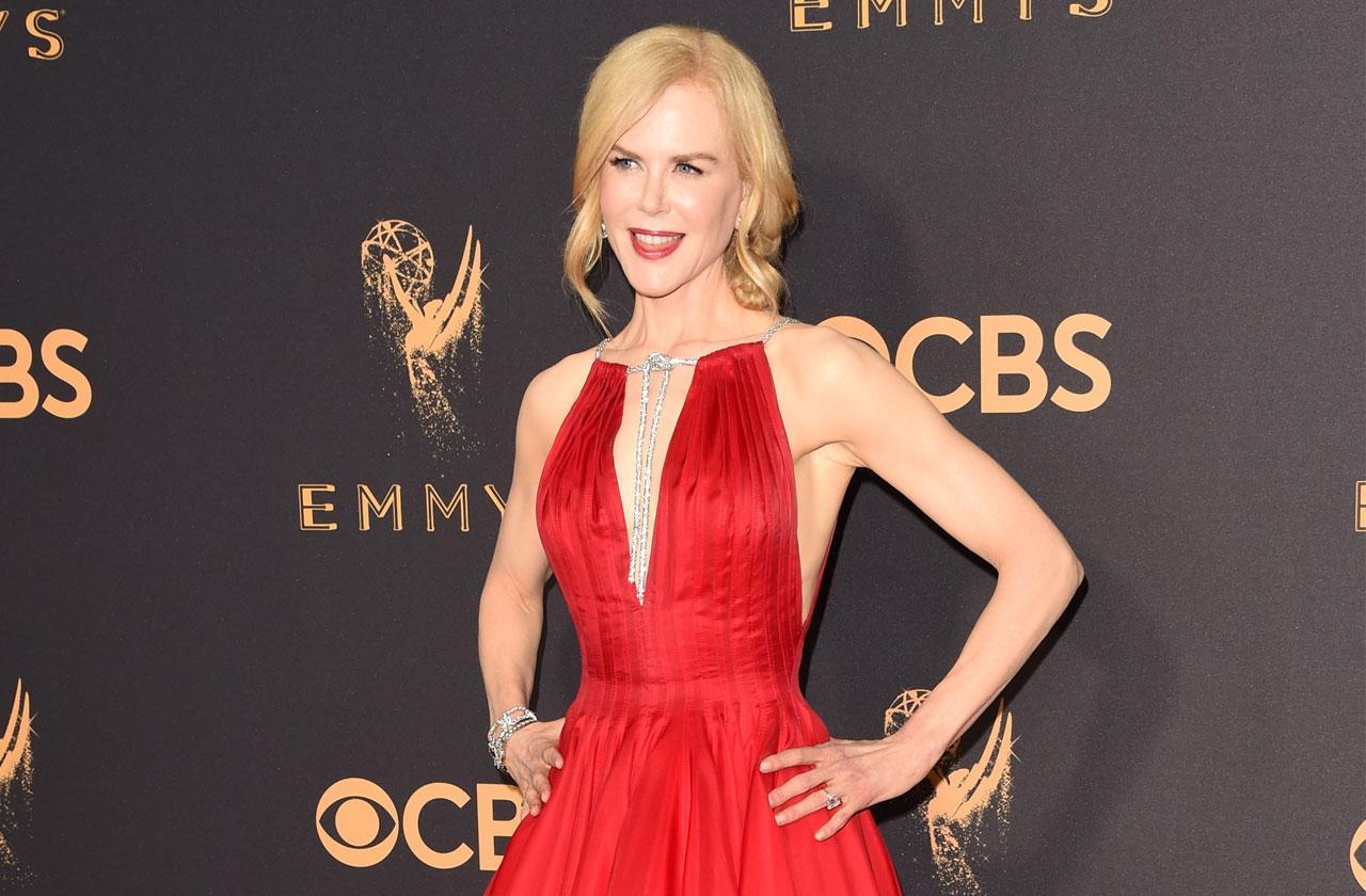 //Nicole Kidman Diva Emmy Awards pp