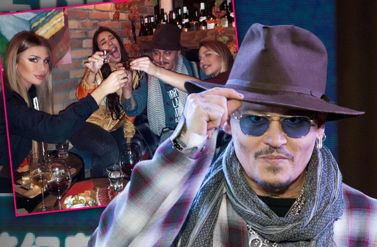 Johnny Depp New Women Serbia