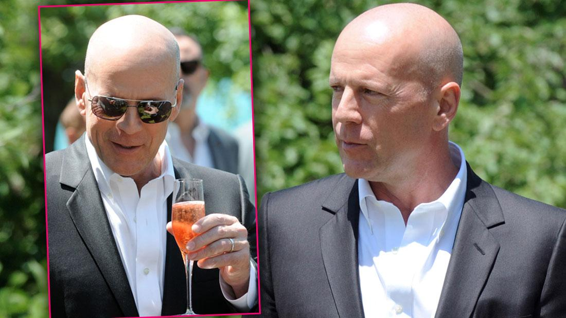 Sober Bruce Willis Huge Wine Cellar Million-Dollar Collection