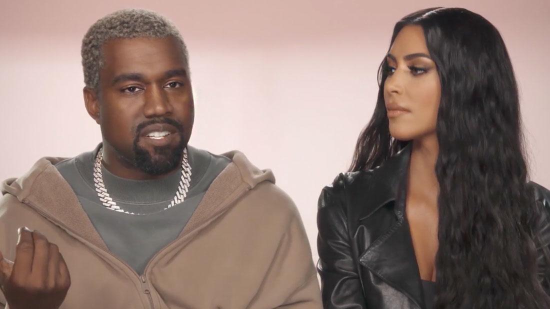 Kim Kardashian & Kanye West Reveal Baby #4 On 'KUWTK' Season Premiere