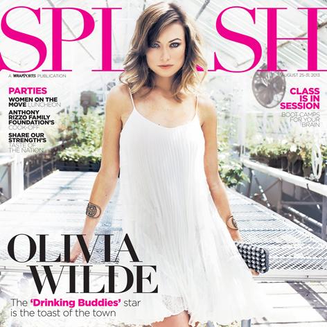 //olivia wilde splash magazine cover
