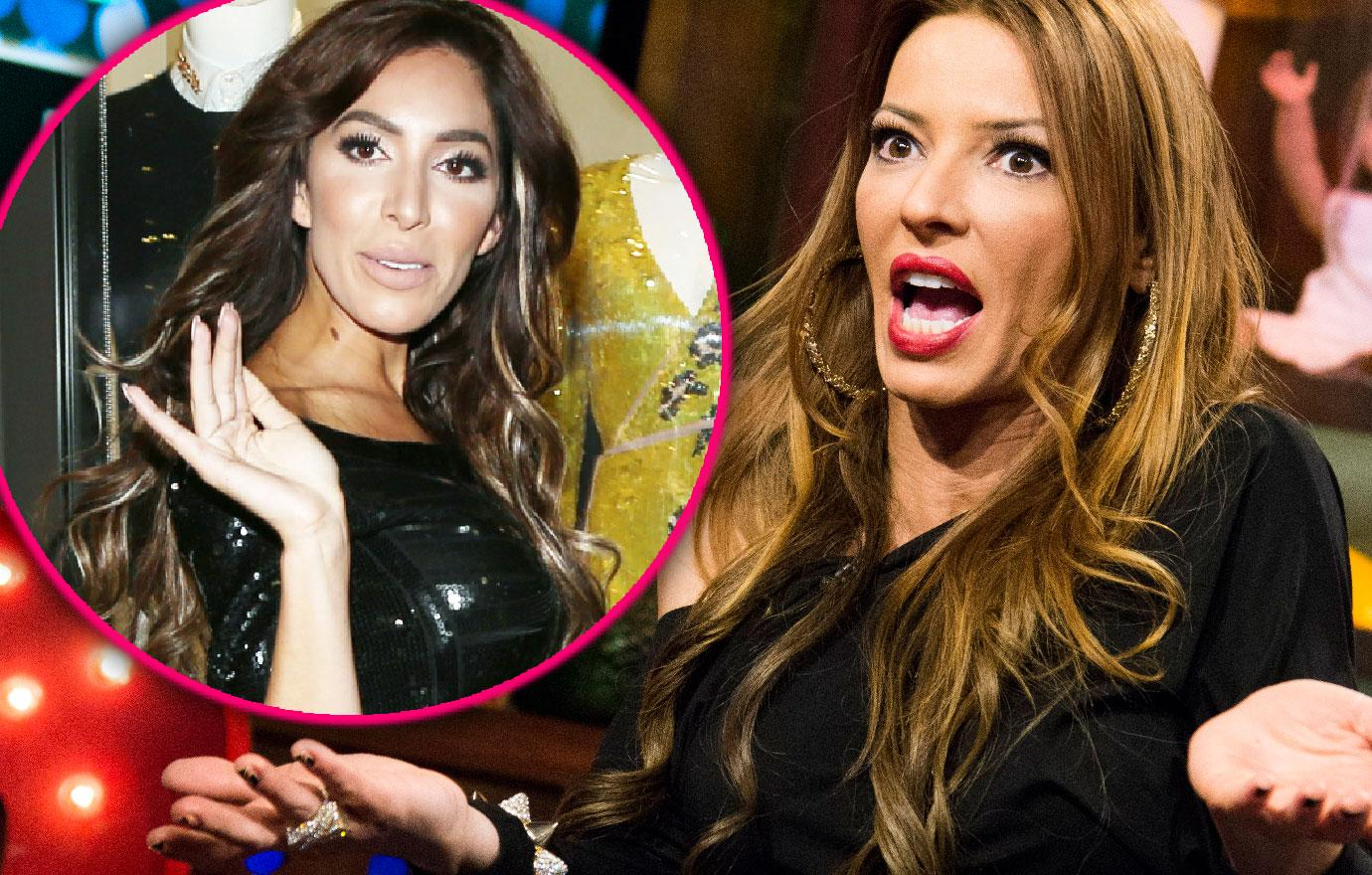 Mob Wives Drita D'Avanzo Challenges Farrah Abraham To Boxing Match