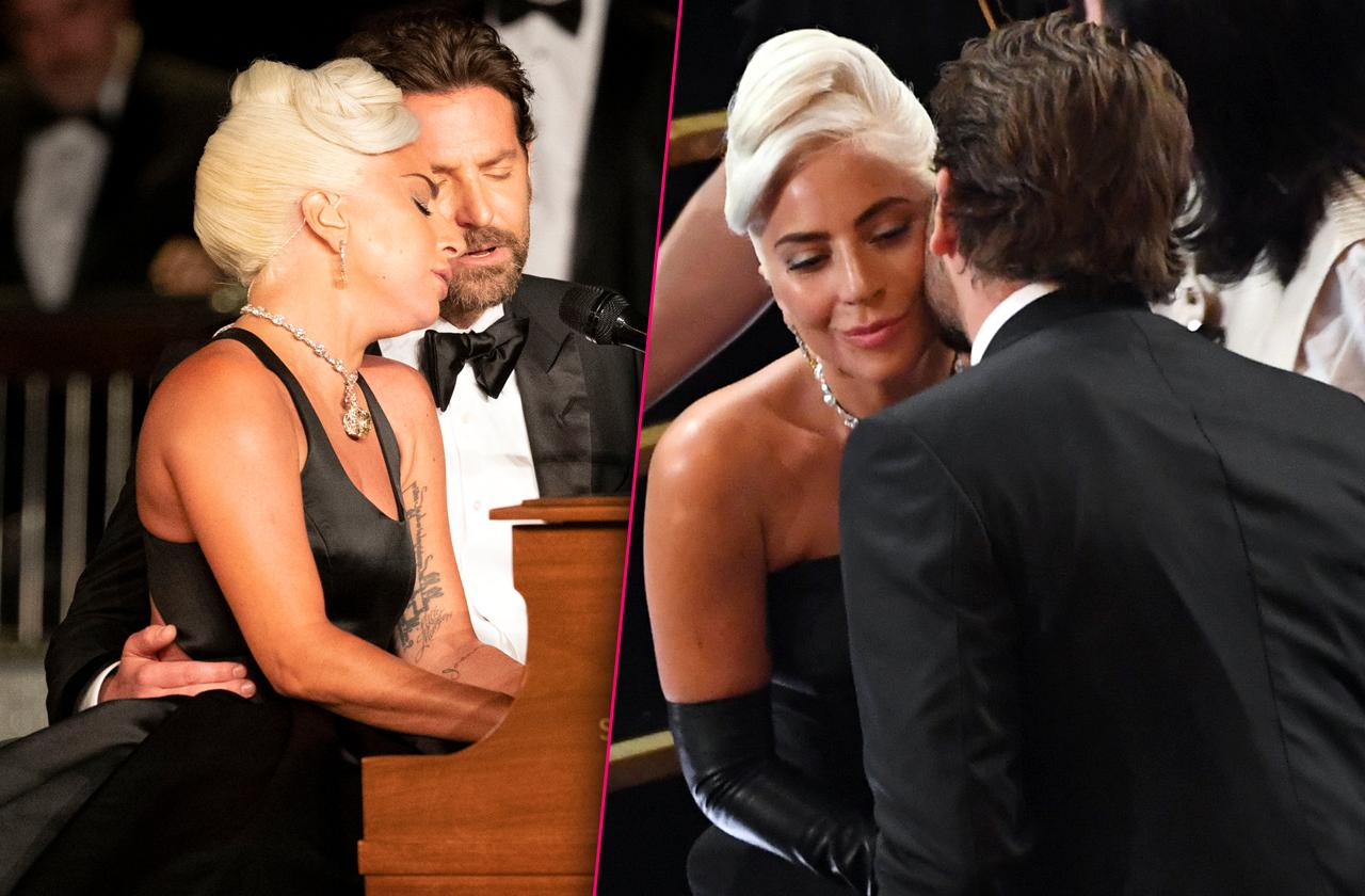 Lady Gaga Bradley Cooper Look Like Ready Kiss Shallow