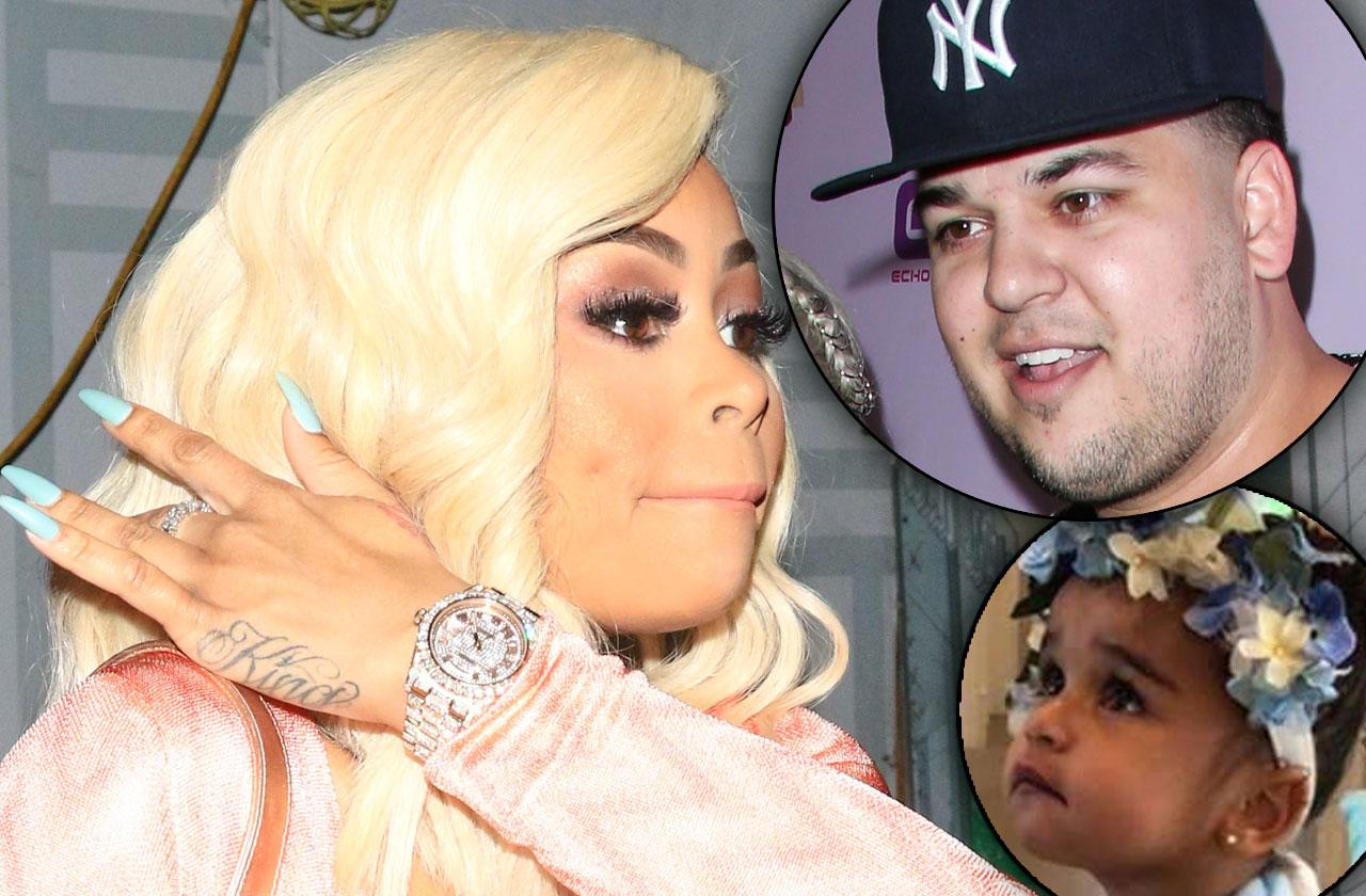 Blac Chyna Slams Rob Kardashian Lower Child Support