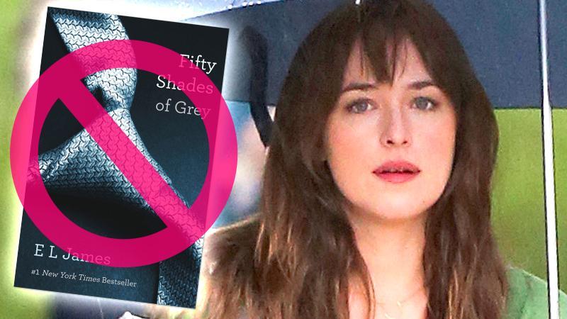 //dakota johnson bans family seeing fifty shades of grey pp sl