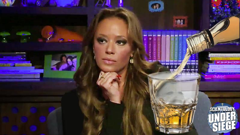 //leah remini booze scientology pp
