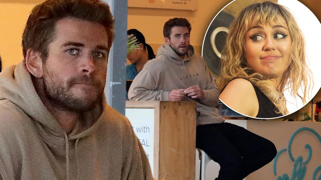 Liam Hemsworth Somber In First Photos Since Miley Cyrus Split