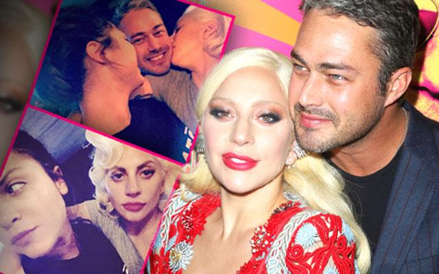 //lady gaga lesbian  way taylor kinney bisexual bride pp