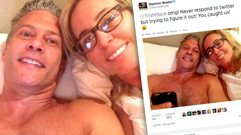 //shannon beador flaunts bed pic with husband david amid divorce drama pp sl