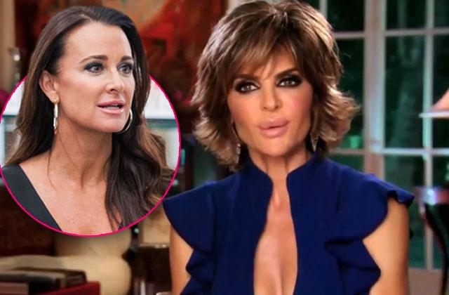 Lisa Rinna Kyle Richards Insane Nicky Hilton Wedding Husband Not Invited