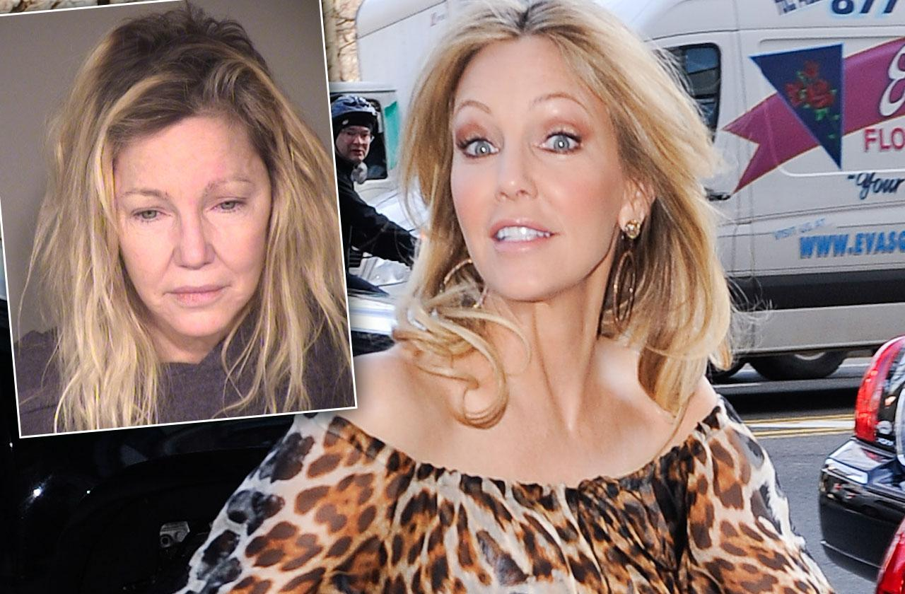 //Heather Locklear Released Jail Battery Arrest pp
