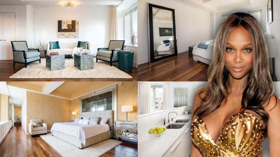 Tyra Banks New York Apartment