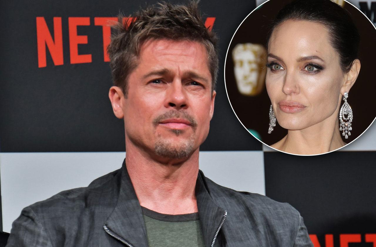 //Brad Pitt Fire Back Angelina Jolie Child Support pp