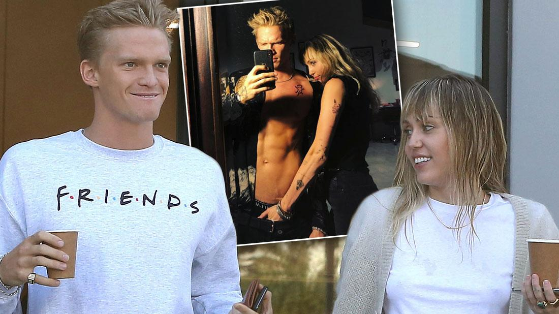 Miley Cyrus Puts Her Hand Down Cody Simpson's Pants In Raunchy Photo