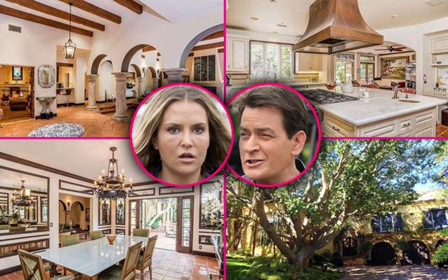 See Inside Pics of Charlie Sheen's Mansion That Has Gone Into Foreclosure As Ex-Wife Brooke Mueller Scrambles To Find New Digs