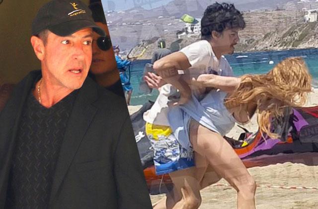 Lindsay Lohan Fight Fiance Egor Tarabasov Dad Michael Lohan Coward