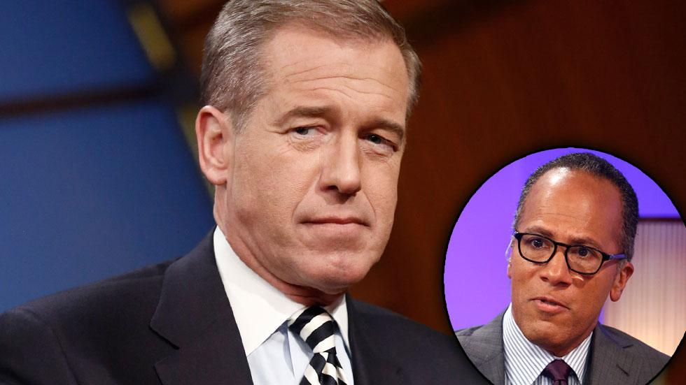 Brian Williams 'NBC Nightly News' Network